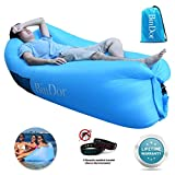 Bindor Inflatable Air Lounger Sofa Couch Air Hammock Bag Chair Lazy Bed Waterproof Pool Float Travelling, Camping, Hiking,Pool, Beach Parties