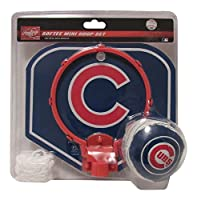 Mini Softee Hoop Set by Rawlings - Chicago Cubs! Hoop, Ball & Net!
