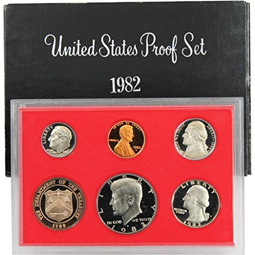 1982 Collector - 1982 S US Proof Set Original Government Packaging