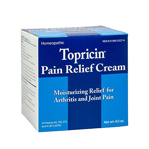 Topricin Pain Relief Cream (4 oz) Fast Acting Pain Relieving Rub ()