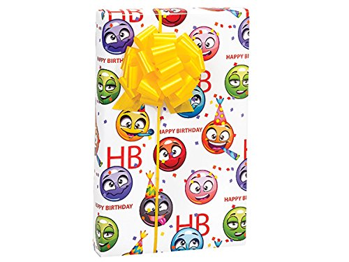 Emoji Birthday 24''x417'