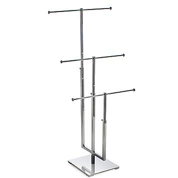 Amazon.com: Azar 300653 Adjustable Three Bar Necklace Display ...