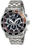 Invicta Men's 14512 Pro Diver Analog Swiss-Quartz Silver Watch, Watch Central