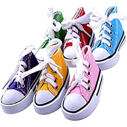 6 Creations Mini Sneakers Toy for Birds Toys Parrot Craft Cage Craft Toys Cages Small Animal Dog Cat