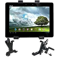 Support de fixation voiture grille d'aération 360° pour tablettes tactiles Asus MeMO Pad ME102A-1B016A, Amazon Fire HD 6 Tablet et Fire HD 7 - DURAGADGET