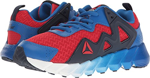Reebok Kids  Boy's Exocage Athletic II (Little Kid) Primal Red/Awesome Blue/Collegiate Navy 2 M US Little Kid (Awesome Shoes For Boys)