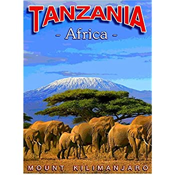 A SLICE IN TIME Tanzania Mount Kilimanjaro Africa African Travel Art Collectible Wall Decor Poster Advertisement Print. Poster measures 10 x 13.5 inches