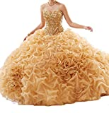 Best Sunday Inc Quinceanera Dresses - Sunday Womens' Sweetheart Sequins Vestidos 15 Ball Gown Review