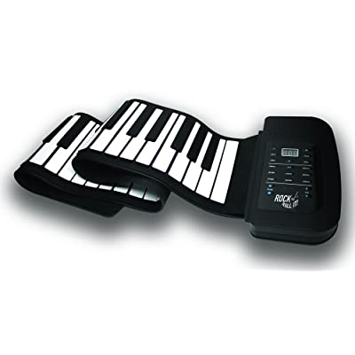 Rock And Roll It - Studio Piano. Flexible, Completely Portable, 61 Standard Size Keys, Rechargeable Battery + USB Powered, AND Midi Compatible: Toys & Games