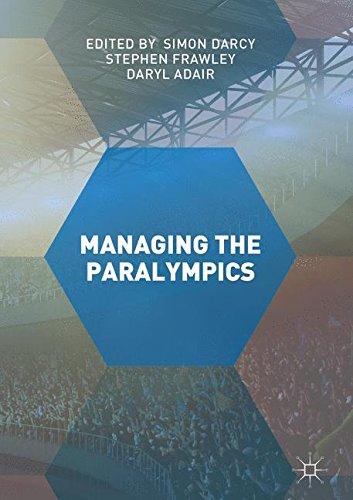 Managing the Paralympics by Palgrave Macmillan