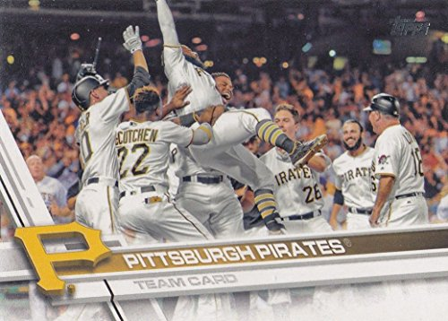 Pittsburgh Pirates Team Set - Pittsburgh Pirates 2017 Topps Complete Mint Hand Collated Team Set with Andrew McCutchen and Gerrit Cole Plus