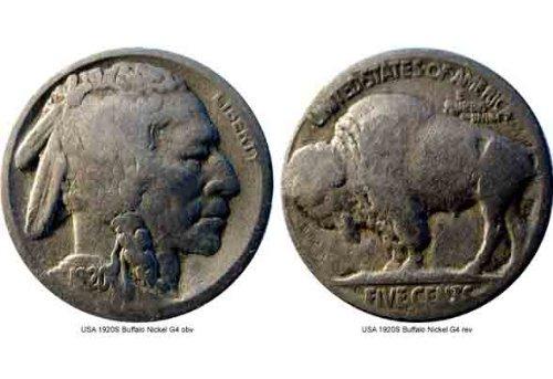 Scarce 1920-S Buffalo Nickel