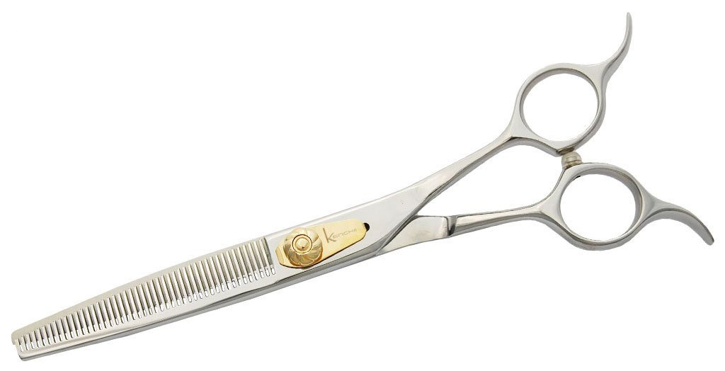 Kenchii Eric Salas Signature Series 46 Tooth Bent Shank Grooming Thinners by Kenchii