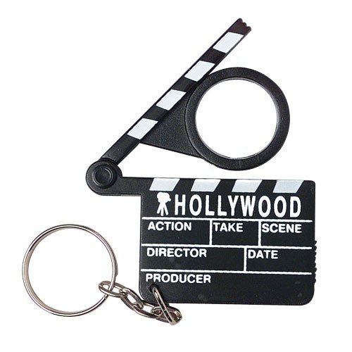 Hollywood Clapboard Key Chains, Sold by 16 Dozens ()