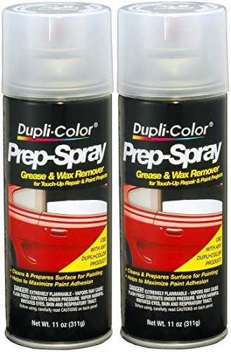 Dupli-Color PS100 Prep Grease and Wax Remover Prep Spray - 11 oz - 2 PACK