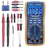 ETEPON Digital Multimeter True RMS 6000 Auto Raging Voltage TesterMeasures Vo..