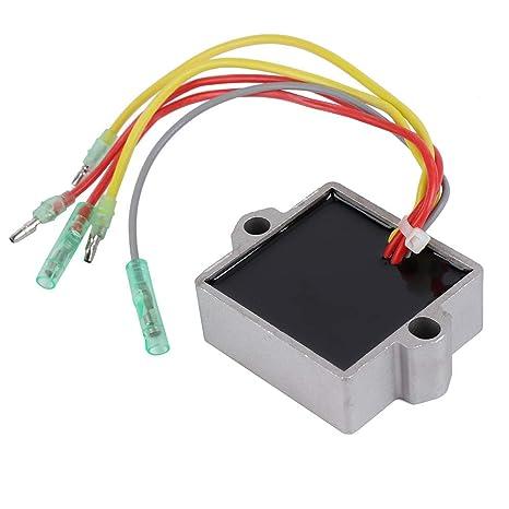 amazon com kemimoto voltage regulator rectifier for mercury marineramazon com kemimoto voltage regulator rectifier for mercury mariner outboard 5 wire 815279t 883072 883071a1 883072 883072t 12v automotive