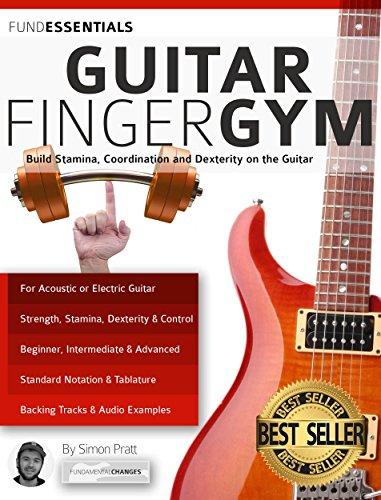 Guitar Finger Gym Stamina Coordination Dexterity ebook product image