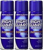 Right Guard Sport Unscented Anti-perspirant Deodorant Aerosol 6 Oz ( Pack of 3)
