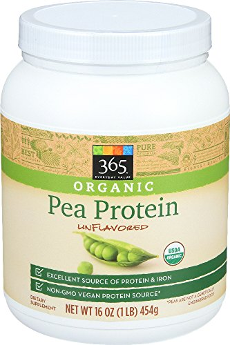 365 Everyday Value, Organic Pea Protein, Unflavored, 16 oz
