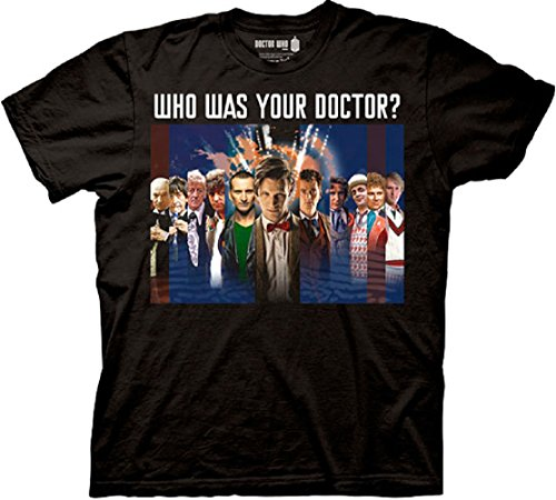 Doctor Who Who Was Your Doctor T-shirt