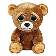"#LightningDeal 78% claimed: William Mark Feisty Pets Sir Growls-A-Lot- Adorable Plush Stuffed Bear that Turns Feisty with a Squeeze, 8.5"" L"