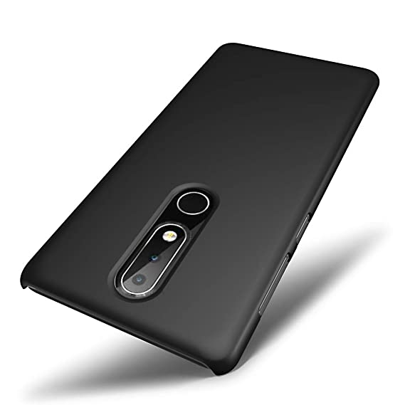 free shipping 51f1b 06825 Amazon.com: SLEO Nokia 6.1 Plus Case, Nokia X6 2018 Case ...