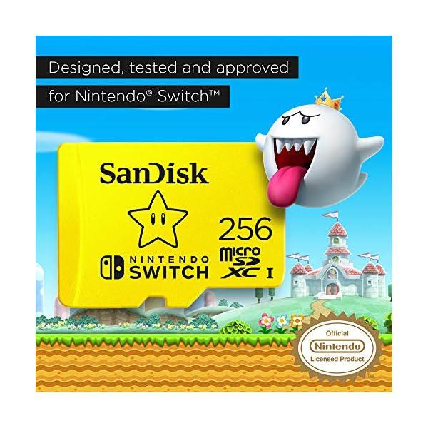 SanDisk 256GB microSDXC UHS-I-Memory-Card for Nintendo-Switch - SDSQXAO-256G-GNCZN 3