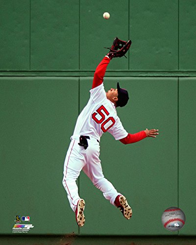 "Mookie Betts Boston Red Sox MLB Action Photo (Size: 8"" x 10"")"