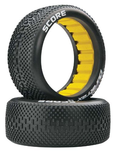 Duratrax Score 1:8 Scale RC Buggy Tires with Foam Inserts, C2 Soft Compound, Unmounted (Set of 2) (1 8 Scale Buggy)