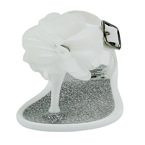 a93214557 Stepping Stones Girls Jelly Sandals Jelly Shoes Glitter Flower - Import It  All