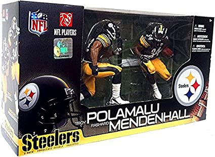 McFarlane Toys NFL Sports Picks Series 14 Action Figure Troy Polamalu Pittsbur