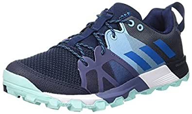 adidas Kanadia 8.1 TR W, Zapatillas de Running Para Mujer, Azul (Azul-(Maruni/Petmis/Aquene)), 36 EU