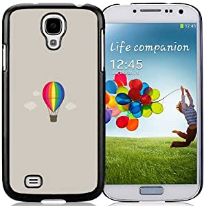 NEW DIY Unique Designed Samsung Galaxy S4 I9500 Phone Case For Hot Air Balloon Illustration Phone Case Cover