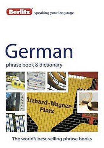 Berlitz German Phrase Book & Dictionary ebook