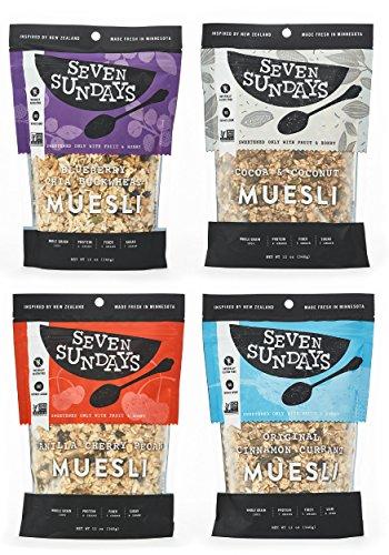 Seven Sundays Muesli 4 Flavor Variety product image