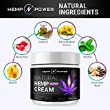 Hemp Power Pain Relief Cream - Relieves