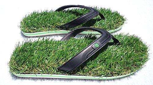 3d2fd5e45065ff Minus 3 Grass Flip Flop Sandals for Man Or Women (Medium 9.5-10.5)