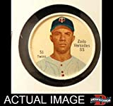 1962 Salada Coins # 51 RED Zoilo Versalles Minnesota Twins (Baseball Card) (Red Buttons on Shirt) Dean's Cards 3 - VG Twins