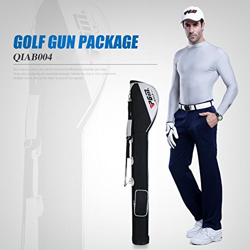 PGM Golf Gun Package Golf Practice Bag Clubs Bag #CQIAB004----Nylon Material,store 3-5 Clubs by PGM