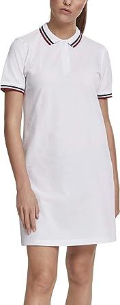 Urban Classics Ladies Polo Dress Vestido para Mujer: Amazon.es ...
