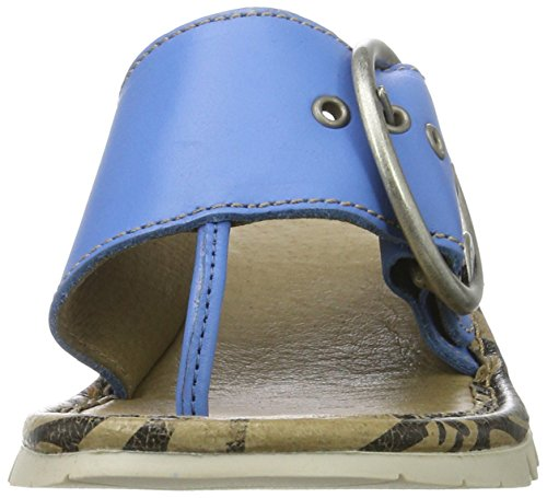 Fly London Trim - Smurf Blå Brooklyn (läder) Kvinna Sandals