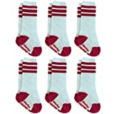 6 Pairs Baby Socks, Colorfox Newborns Seamless