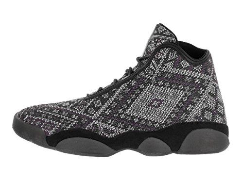 Nike Jordan Horizon Premium, Scarpe Sportive Uomo Grigio/Nero (Black/Purple Steel-lght Chrcl)