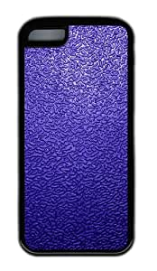 Customized Case Dark blue traces Black for Apple iPhone 5C