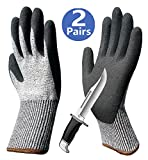 Cut Resistant Gloves Sleeves for Hands & Arm Protection, Palm Grip Coated Breathable Work Gloves, Ideal for Garden Construction Glass Handing Mechanic Car Repairing Medium Duty Multipurpose Use.