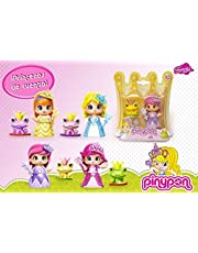0257 pinypon famous princesses blister with frog