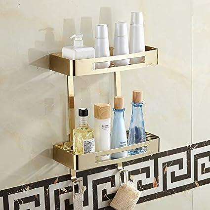 Amazon.com: Loune Week Bathroom Shower Shelves Bathroom ...
