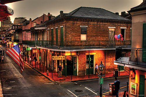 (Poster Service Evening on Bourbon Poster, 24-Inch by 36-Inch)