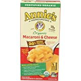 Annies Homegrown Organic 20 Percent More Macaroni and Cheese, 6 Ounce - 12 per case.